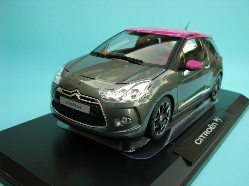 Citroen DS3 2011 grey 1:18 Norev